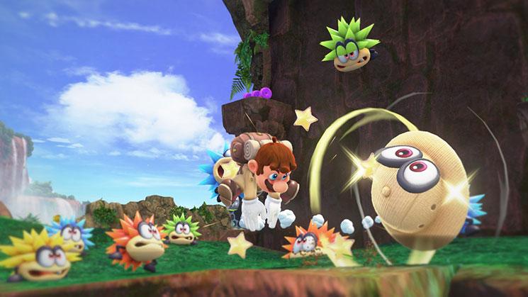 Kleurplaten Mario Vs Donkey Kong.Shaded Triangle